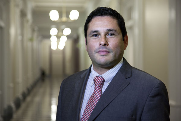 Raul Alvillar was named national political director for the DNC. (Photo courtesy of the White House)