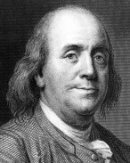 Benjamin Franklin. (Cortesy Library of Congress)