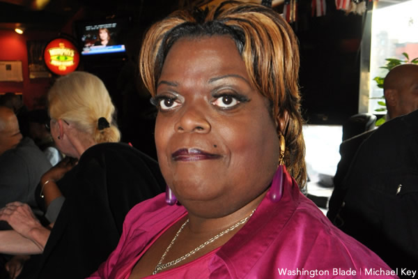 Earline Budd, transgender activist, Washington DC