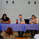 Panelists discuss anti-transgender violence and the Metropolitan Police Department's response to it during Capital TransPride on Saturday