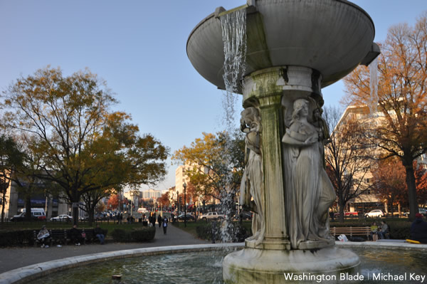 Dupont Circle Fountain, Russian news agency, gay news, Washington Blade