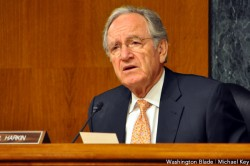 The Senate HELP Committee under Sen. Tom Harkin approved an LGBT-inclusive education reform bill (Blade file photo by Michael Key)