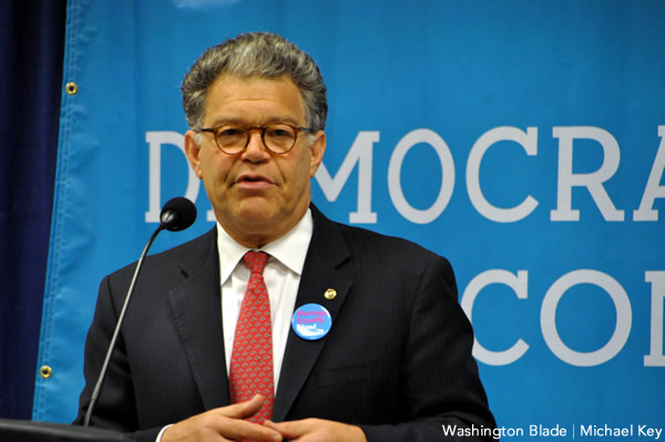 Al Franken, gay news, Washington Blade