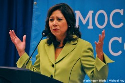 Hilda Solis, gay news, Washington Blade