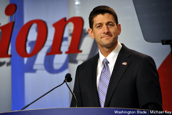 Republican Vice Presidential candidate Paul Ryan at the Values Voter Summit