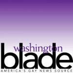 Washington Blade spirit day logo, purple, bullying, gay news, Washington Blade