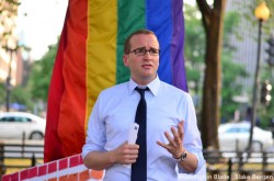 Human Rights Campaign President Chad Griffin sees progress on ENDA and marriage equality ahead (Washington Blade file photo by Blake Bergen).