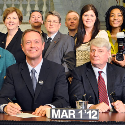 Martin O'Malley, Maryland, same-sex marriage, gay marriage, marriage equality, gay news, Washington Blade