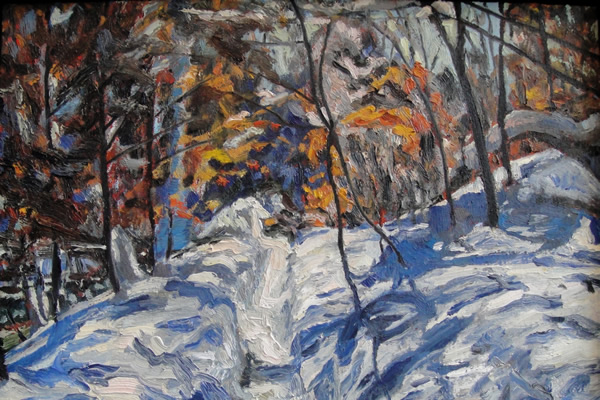 Creekside Path, Ed Miller, Touchstone Gallery, gay news, Washington Blade