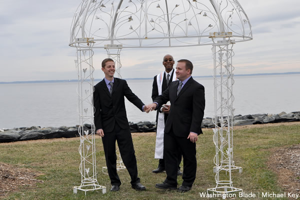 gay marriage, marriage equality, same-sex marriage, Maryland, Clayton Zook, Wayne MacKinzie, Tilghman Island, gay news, Washington Blade