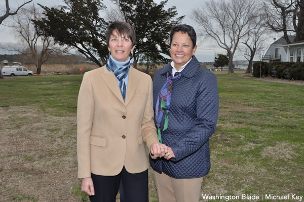 marriage equality, gay marriage, same-sex marriage, Maryland, Tilghman Island, Michelle Miller, Nora Clouse,