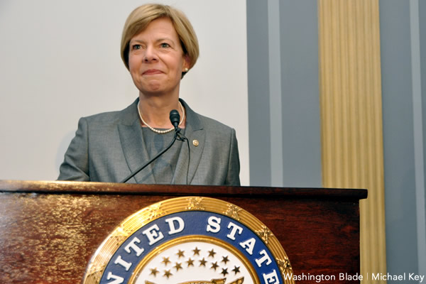 Tammy Baldwin, United States Senate, Wisconsin, Democratic Party, gay news, Washington Blade