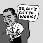 cartoon, Barack Obama, Washington Blade, gay news