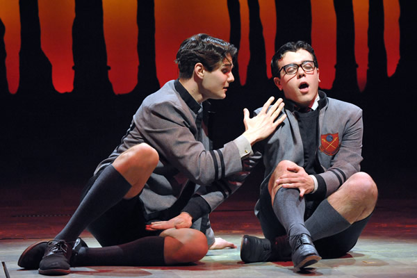 Austin VanDyke Colby, Hanschen, David Landstrom, Ernst, Spring Awakening, Olney Theatre, theater, gay news, Washington Blade