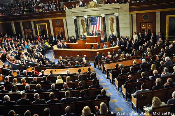 Joint Session of Congress, gay news, Washington Blade, Barack Obama