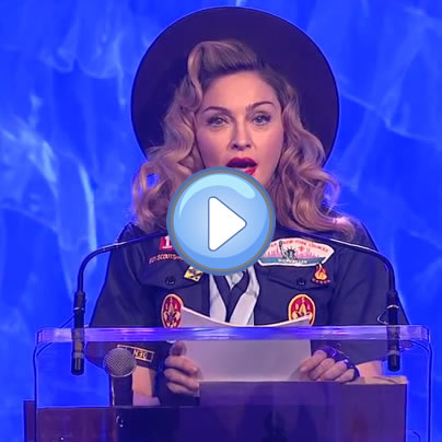 Madonna, Boy Scouts, GLAAD Media Awards, gay news, Washington Blade