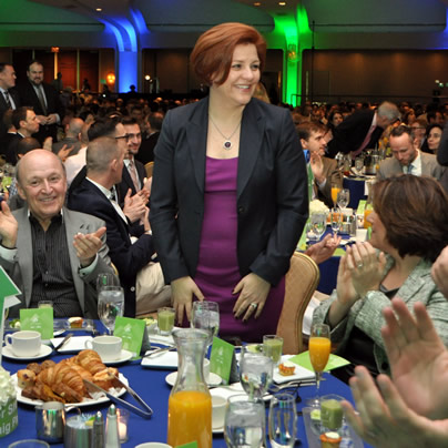 Christine Quinn, New York City, gay news, Washington Blade, Gay & Lesbian Victory Fund, Victory Fund Brunch, Victor Shargai