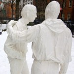 Greenwich Village, gay rights, statues, gay news, Washington Blade, Christopher Park, gay liberation, Sheridan Square, George Segal