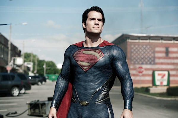 Henry Cavill as Superman in 'Man of Steel.' (Photo courtesy Warner Bros.)