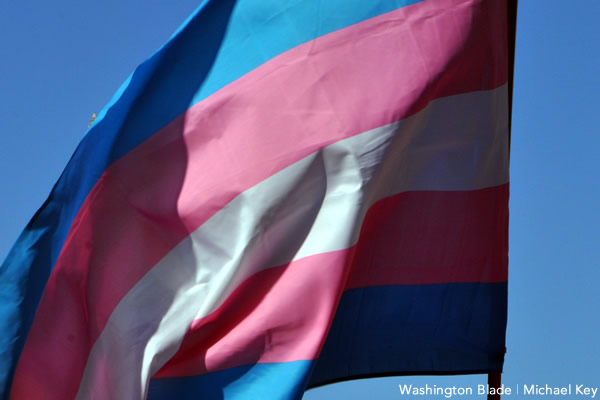 trans, transgender flag, gay news, Washington Blade