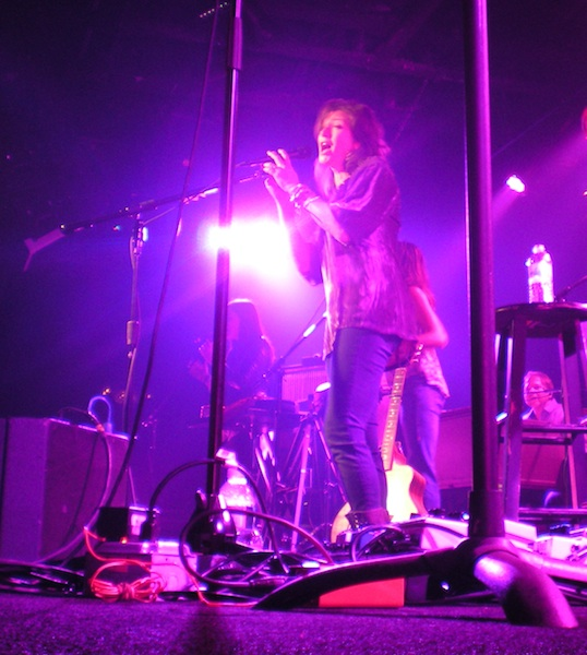Amy Grant at the Birchmere. (Blade photo by Joey DiGuglielmo)