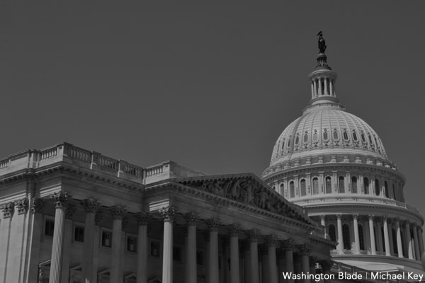 government shutdown, United States Capitol Building, United States House of Representatives, gay news, Washington Blade