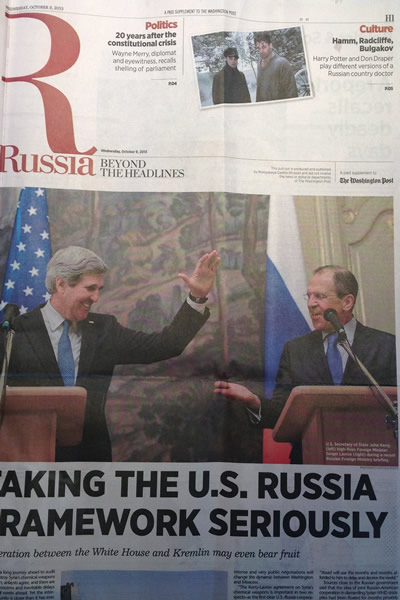 Washington Post, Russia, Kremlin, gay news, Washington Blade