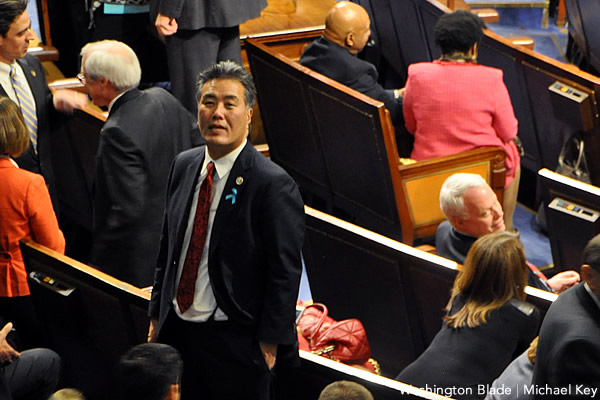 Mark Takano, California, Democratic Party, United States House of Representatives, Congress, gay news, Washington Blade, State of the Union Address, 2014