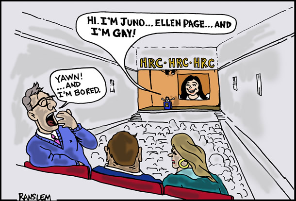 Ellen Page, Human Rights Campaign, Juno, coming out, HRC, gay news, Washington Blade
