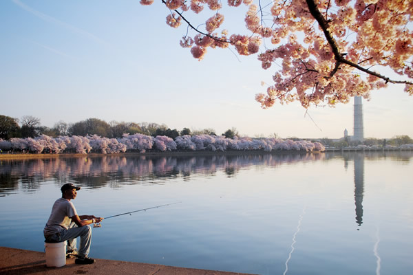Early Morning Fishing, Exposed D.C. Photography Show, gay news, Washington Blade