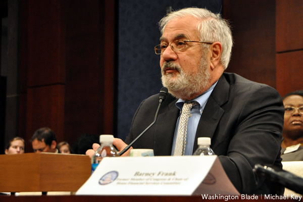 Barney Frank, Massachusetts, World Bank, human rights, Democratic Party, United States House of Representatives, gay news, Washington Blade