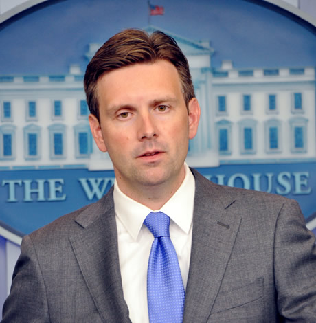 Josh Earnest, White House, Barack Obama, Obama Administration, gay news, Washington Blade