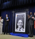 Harvey Milk, Stuart Milk, USPS, United States Postal Service, Nancy Pelosi, John Lewis, Tammy Baldwin, Ronald Stroman, Samantha Power, gay news, Washington Blade