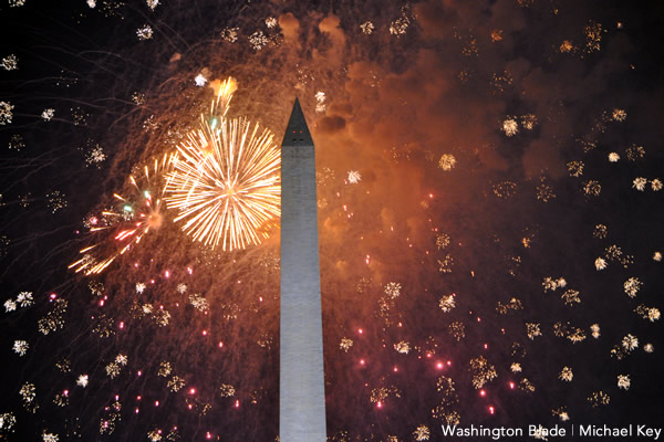 fireworks, July 4, Independence Day, gay news, Washington Blade