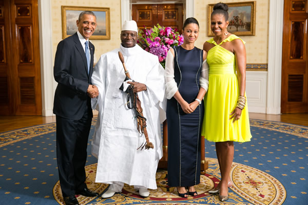 Washington Blade, Barack Obama, Gambia
