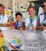Konstantin Yablotskiy, Elvina Yuvakieva, Gay Games, Russian LGBT Sport Federation, gay news, Washington Blade
