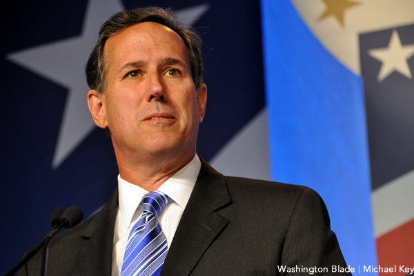 Rick Santorum, Values Voter Summit, gay news, Washington Blade
