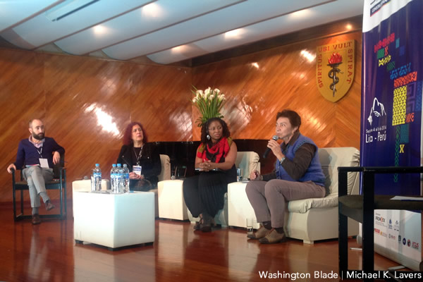 Tracy Robinson, Inter-American Commission of Human Rights, Peru, gay news, Washington Blade