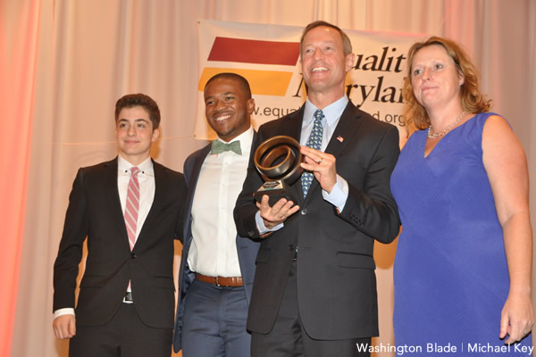 Martin O'Malley, Equality Maryland Signature Brunch, gay news, Washington Blade