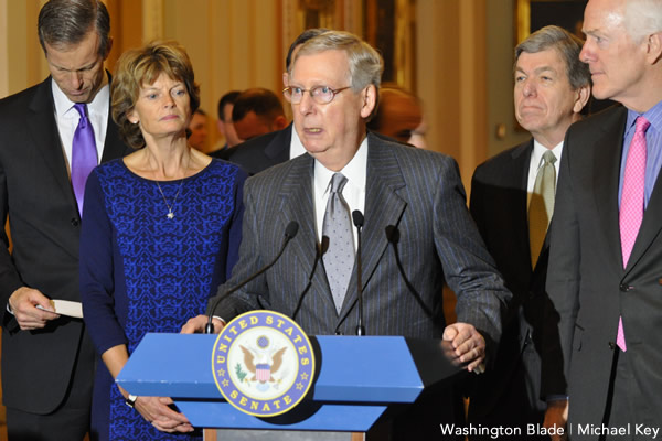 Mitch McConnell, Republican Party, Neo-Nazis, Kentucky, United States Senate, gay news, Washington Blade