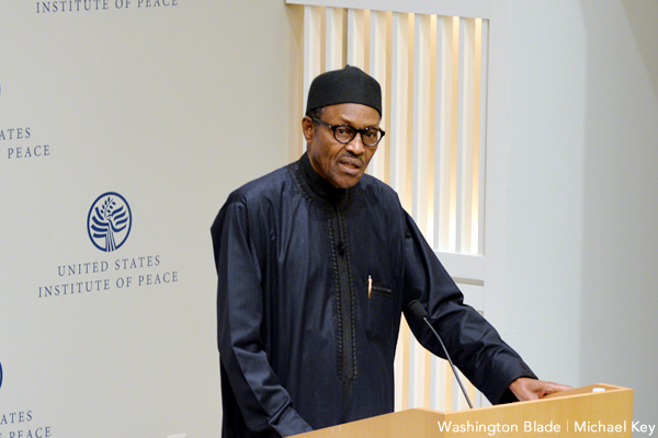 Muhammadu Buhari, Nigeria, gay news, Washington Blade