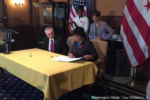 World AIDS Day, Muriel Bowser, gay news, Washington Blade, HIV Fast-Track Cities Declaration