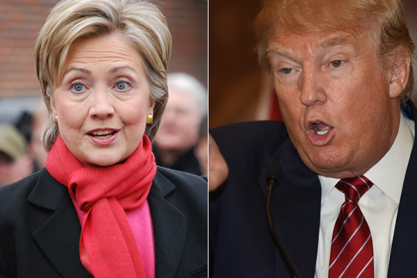 A new poll finds LGBT voters back Hillary Clinton over Donald Trump by a 4-1 margin.