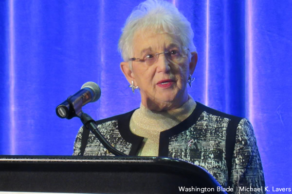 Virginia Foxx, Family Research Council, Susan B. Anthony List, gay news, Washington Blade