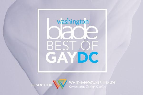 Best of Gay DC 2016