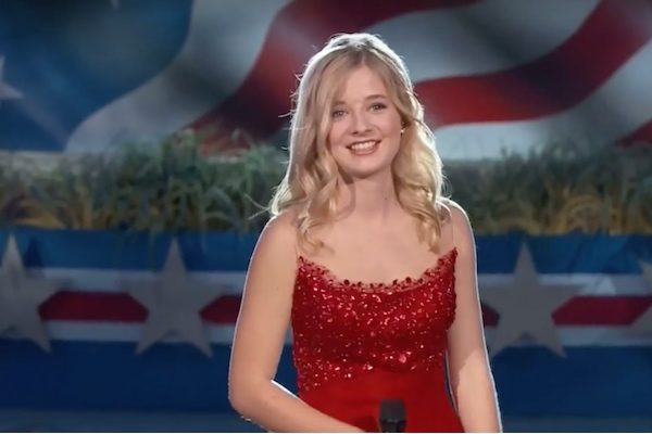A court has ruled to allow Jackie Evancho's trans sister to use the school restroom consistent with her gender identity. (Screenshot via YouTube.)