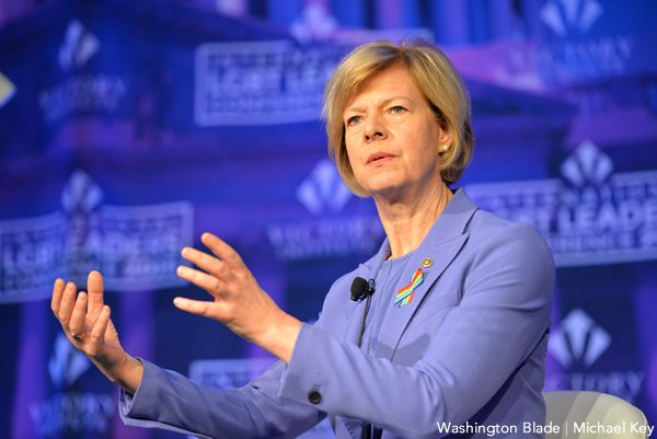 Tammy Baldwin, gay news, Washington Blade