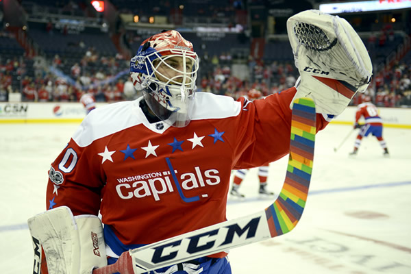 Braden Holtby, gay news, Washington Blade