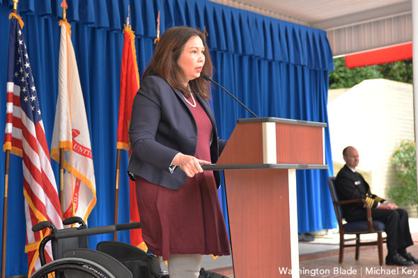 Tammy Duckworth, DoD Pride, gay news, Washington Blade